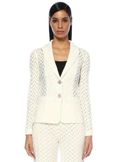 Missoni Ceket Beyaz